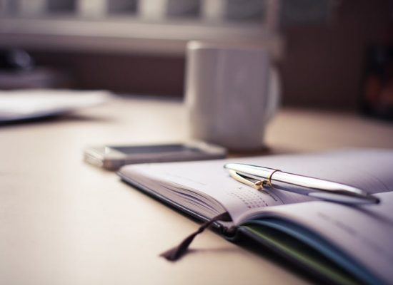 agenda pen cup qice