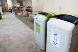 Office recycling bins